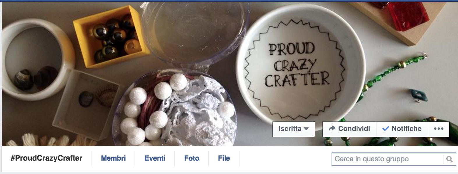"""il gruppo per le creative """"pazze"""" e orgogliose di esserlo!"""