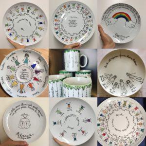 collage piatti personalizzati