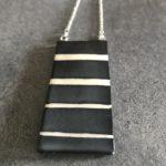 collana rettangolare a righe imperial