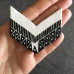 collana imperial triangoli