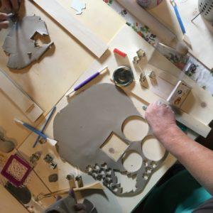 mano corso di argilla