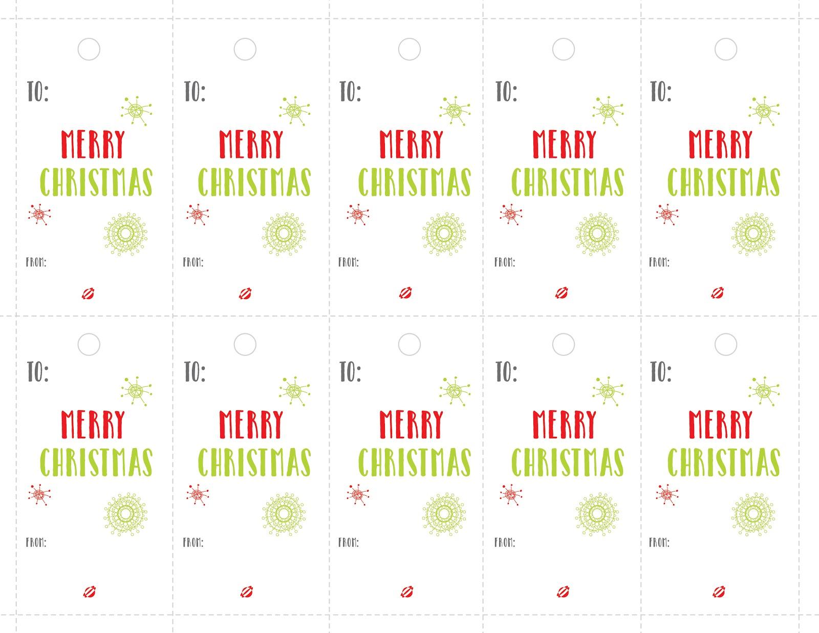 LBG LABELS CHRISTMAS 2014 - lostbublebee