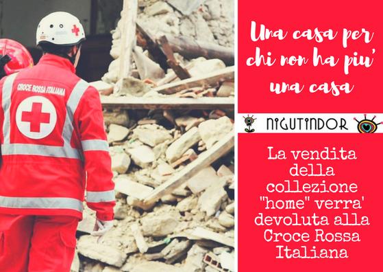 La vendita della collezione -home-verra' devoluto alla Croce Rossa Italiana