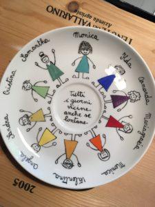 piatto personalizzato